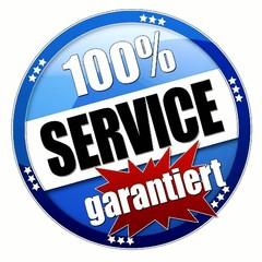 100 % Service garantiert