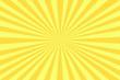 Leinwanddruck Bild - Strahlen gelb