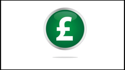 Bouncing Pound Icon