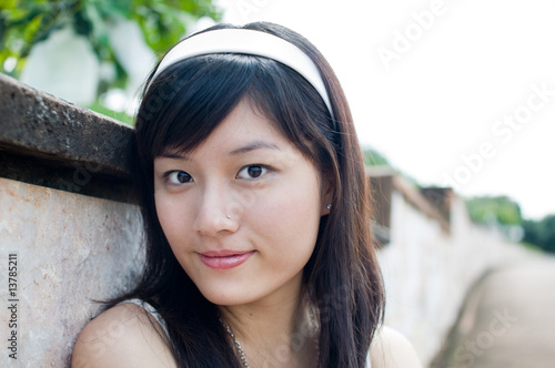 Women outdoor portrait