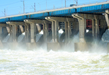 hydroelectric station