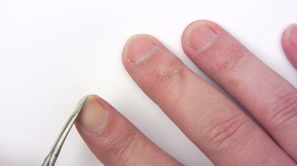 Clipping Fingernails