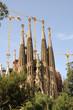 Antoni Gaudis La Sagrada Familia in Barcelona Spain