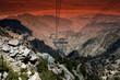 Fototapete Höhenlage - Berg -
