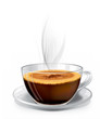 Hot Cup of Cappuccino