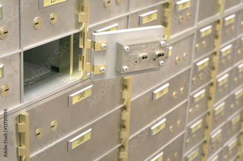 Open Safe Deposit Box
