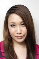 Beautiful asian lady portrait