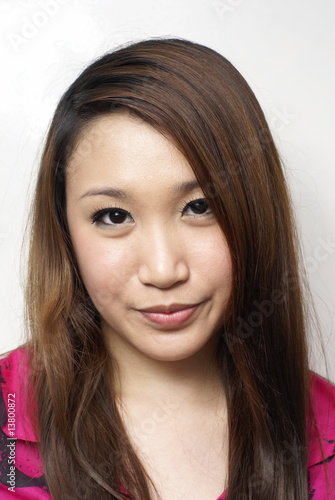 Beautiful asian lady portrait
