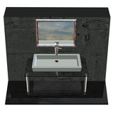 3D of a Modern and Original Basin Design