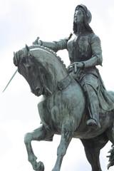 Statue Jeanne d'Arc Orléans