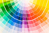 Fototapety Color guide samples