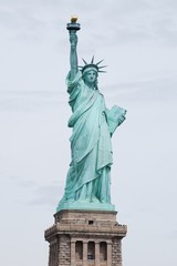 Staue of Liberty on Pedestal