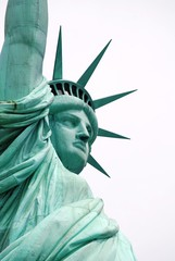 Face of Statue of Liberty