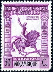Imperio colonial Portugues. Moçambique. Timbre postal.