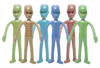 Toy Alien Figures