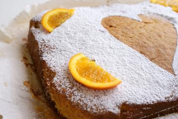torta all'arancia casalinga