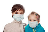 Protection from a swine flu poster