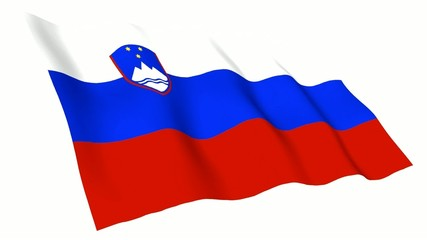 Slovenia Animated Flag