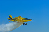 Crop duster aircraft. poster