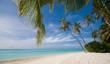 Tropischer einsamer Strand