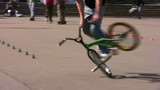 bicycle trick