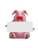 Swine flu-5 poster