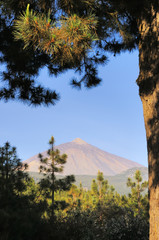 Teide volcano in Tenerife. Spain
