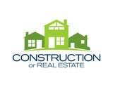 Fototapety House Icon: Construction or Real Estate