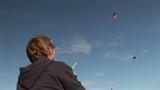 Woman Flying Stunt Kite poster