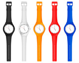 Fototapety color wristwatch