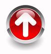 Upload glossy icon