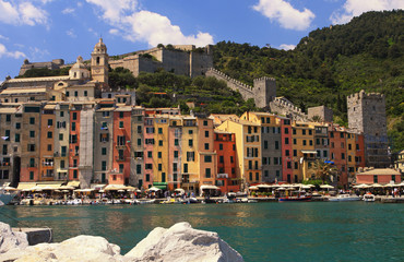 porto venere harbor view