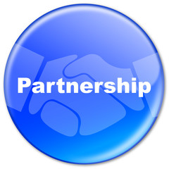 """Partnership"" button (blue)"