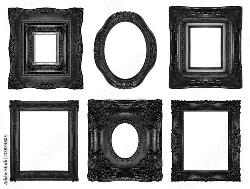 Beautiful ornate frames - 13834603