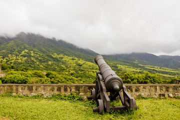 Cannon Toward Cloudy Hills