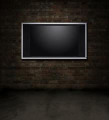 TV brick room