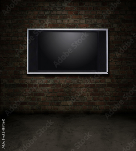 TV brick room