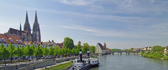 Regensburg - Kulisse und UNESCO -Weltkulturerbe