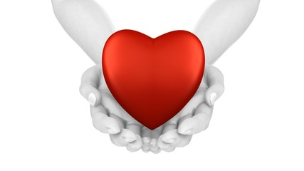 Hands with Heart Loop