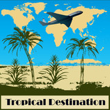 Tropical Destination poster