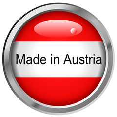 Made in Austria Button