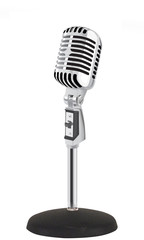 Retro Microphone (vector)