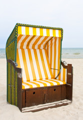 A Yellow Beach Chair
