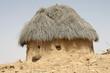 Einsame Dorfhütte