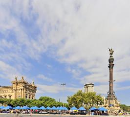 Spanien, Barcelona, Kolumbusstatue