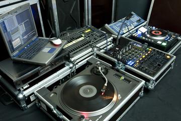gramophone,  mixer,