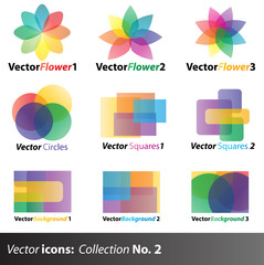 Vector Icons: collection No. 2