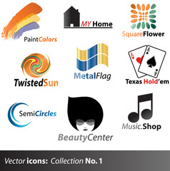 Vector Icons: collection No. 1