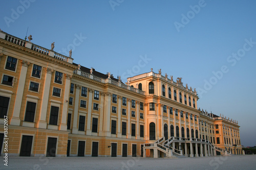 beautiful castle of Schönbrunn