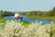 Landschaft im Frühjahr mit Wasserstraße 480 - 13872456
